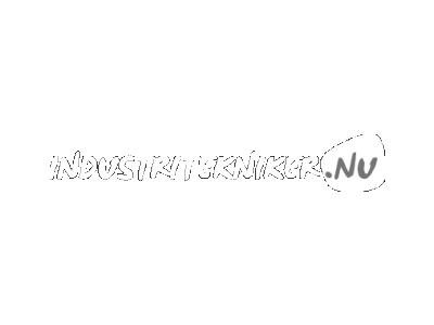 Industritekniker Logo Hvid